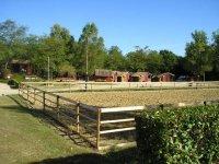 le centre equestere de Pont du Casse