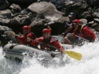 Mini raft en autonomie sur l Aude