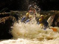 Rafting sur la Basse Cure