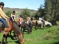 Randonnee equestre dans le Gevaudan