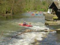 Kayak au moulin de Jarcy