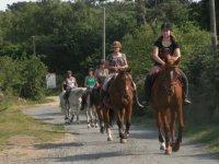 Sortie a cheval en Bretagne