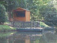 Chalet de location de barques