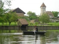 Promenade pres de Grez en barque