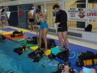 plongee en piscine