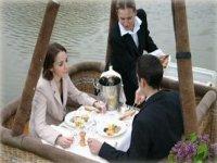 Diner a bord