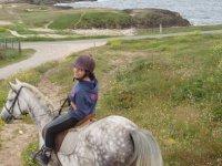 Presqu ile de Quiberon a cheval