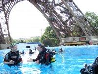 Bapteme Plongee a Paris