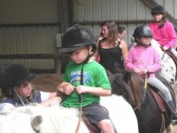 Equitation enfant Surzur