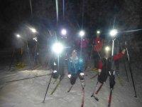 Ski de fond en Nocturne