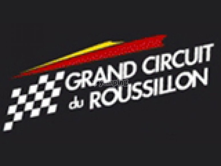 karting logo grand circuit du roussillon de grand circuit du roussillon foto 1. Black Bedroom Furniture Sets. Home Design Ideas