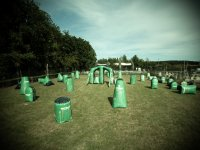 Terrains de paintball de competition avec Acting Paintball