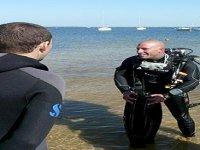 Plongee avec l aide d une equipe de professionnel qualifies