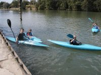 Kayak sur la Marne