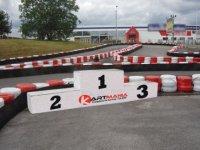 Le podium de la piste outdoor