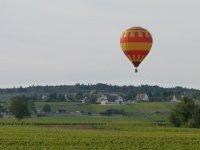 Survol du vignoble de Meursault