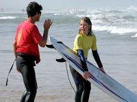 La decouverte du surf