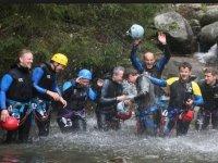 Sortie en groupe dans les canyons du Pays Basque