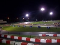 Circuit outdoor karting nocturne