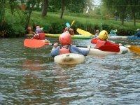 classe de kayak pour l Ecole Elementaire