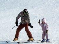 Apprendre a skier Domaine Killy