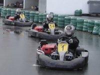 Karting sous la pluie