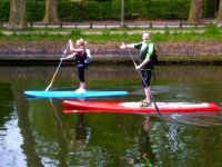 Balade en stand up paddle a Lille