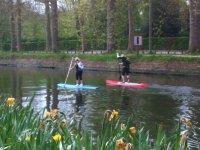 Paddle surf sur la Deule
