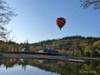 Vol en ballon en Auvergne