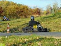 La piste de karting