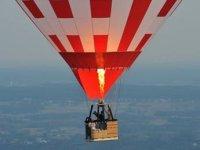 Montgolfiere en vol