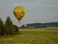 Le charme du nord en montgolfiere