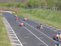 Compétition karting outdoor