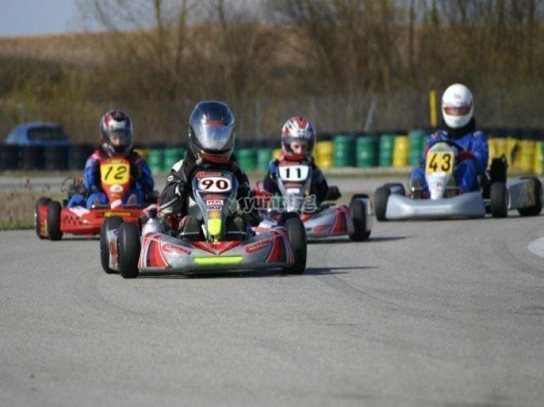Ain karting racing karting for Karting exterieur