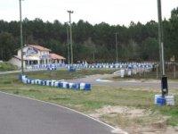 La piste de karting mesure