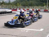 Karts au point de départ