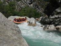 passage a sensations en rafting