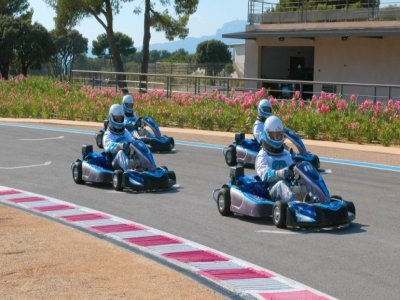Paul Ricard Karting Test Track
