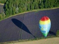 Vol en ballon en Provence