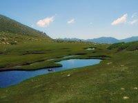 Lac et montagne Corse