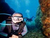 Visite des lieux sous marins