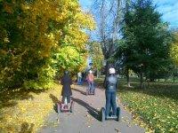 Bois de Boulogne en Segway