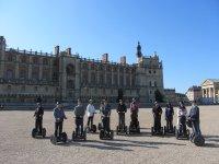 Château et jardins St Germain en Laye sur 2 roues