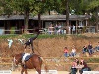 Pratiquez la voltige equestre avec La Roche Noire