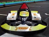 Karting décoré