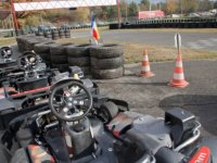 Faire du karting outdoor
