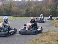 Les participants du challenge karting