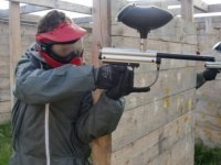 Paintball en Coreeze sur un terrain ammenage