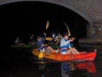 Canoe nocturne sur l'Eure
