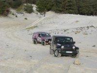 Conduite de Jeep tout terrain